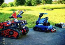 robot des sapeurs-pompiers