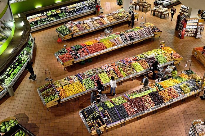 du local pour les supermarchés