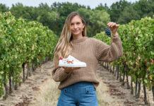 Transformer les déchets de pomme en baskets